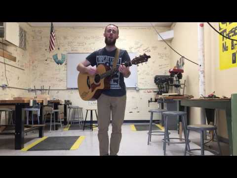 """Radioactive"" (Imagine Dragons Cover) by Brian Wardwell -  Live from the Woodshop ✌🏼"