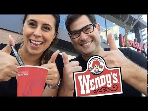 Finalmente Wendys no Brasil (São Paulo)