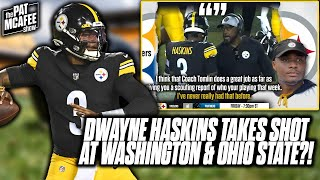 Dwayne Haskins Takes A Shot At Washington; Didn't Give Him Chance To Succeed?!