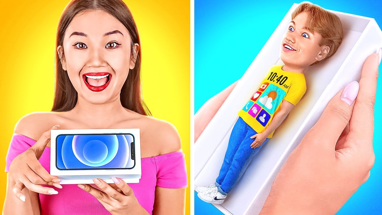 Download IF PHONES WERE PEOPLE || My Phone Is My BEST FRIEND! Funny Situations by 123 GO! CHALLENGE