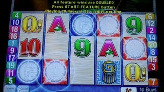 Aristocrat - Sun and Moon - 50 Spins MAX BET - Recorded entire bonus!!!