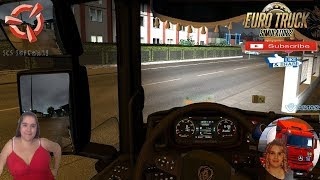 Euro Truck Simulator 2 (1.37)   Scania S Dashboard Computer v1.5 for 1.37.X and Scania Next Gen Full Tuning  FMOD ON and Open Windows Naturalux Graphics and Weather Spring Graphics/Weather v3.5 (1.37) by Grimes Test Gameplay ITA + DLC's & Mods https://for