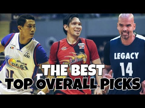 PBA 5 BEST TOP OVERALL PICKS OF ALL-TIME