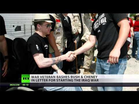 Dying Iraq vet blames Bush/Cheney for war crimes