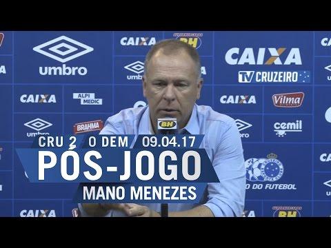 09/04/2017 - Coletiva Pós-Jogo - Téc....