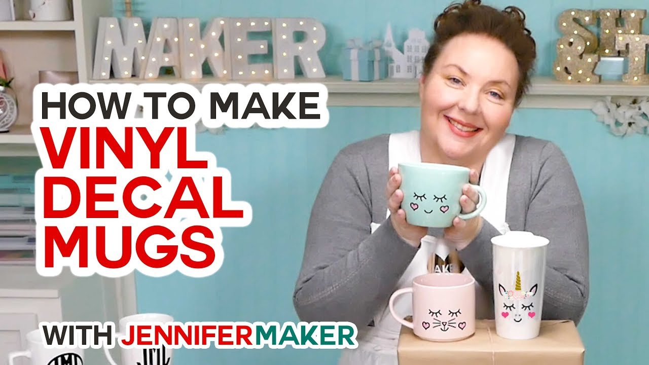 How To Put Vinyl On Mugs Test Cute Designs