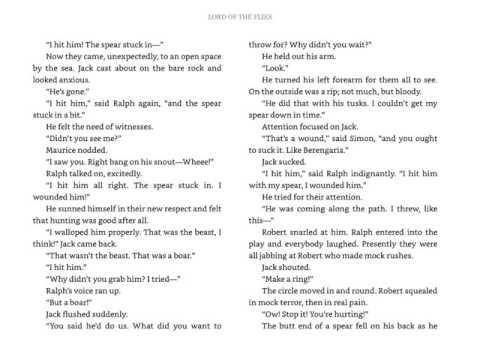 LOTF   Chapter 7