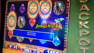 ***HANDPAY!!!***  Jackpot on $1 Jungle Wild III