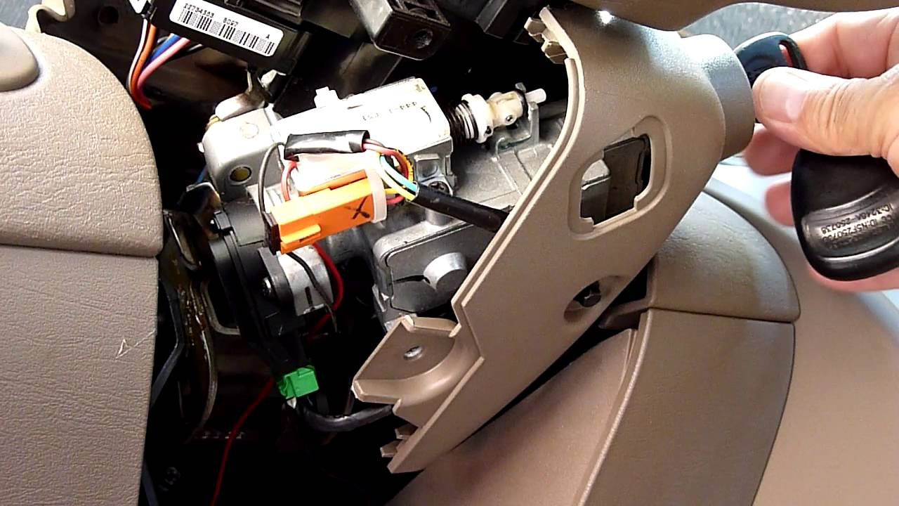 Saturn Ion Ignition Switch Solenoid Operation