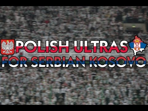 Polish Ultras for Serbian Kosovo