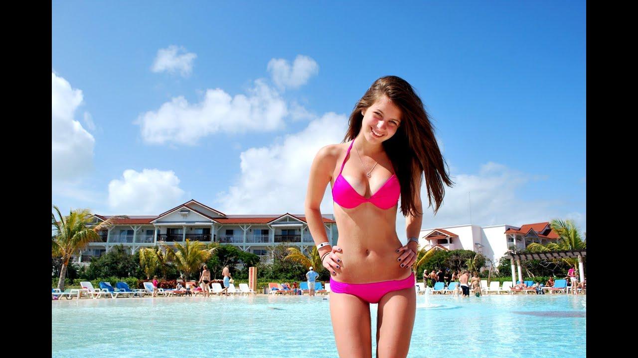 Пляже красивые девчонки фото летние 18