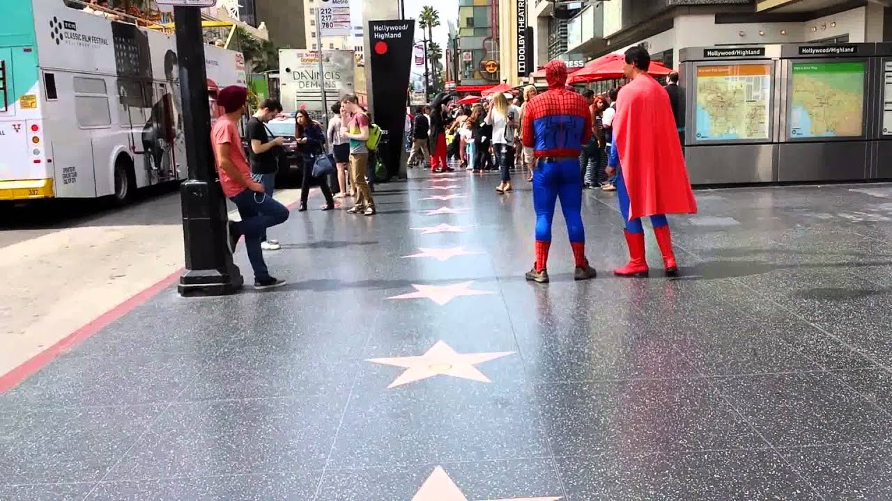Hollywood Blvd 2014 Youtube
