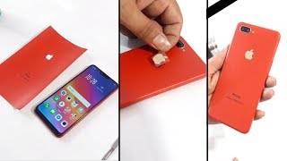 Oppo A3s converted in Iphone with apple lamination decorate trick 2018 thumbnail
