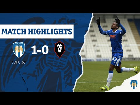 Colchester Salford Goals And Highlights