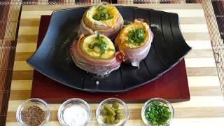 Запеченный Картофель с Сыром и Беконом  Гости и Семья Будут в Восторге!