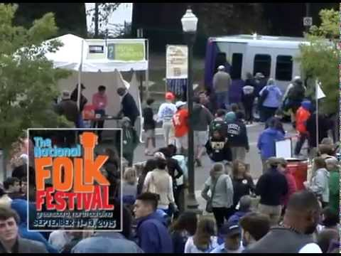 75th National Folk Festival, Greensboro Sept. 11 - 13 | 1 minute introduction