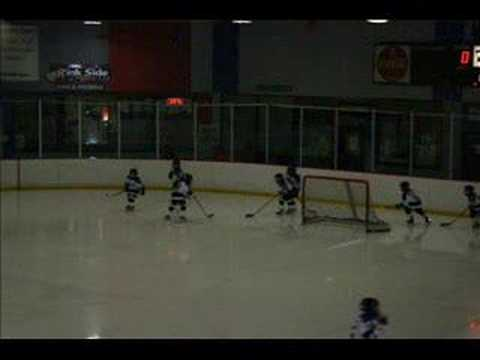 chicago blues hockey mites silver