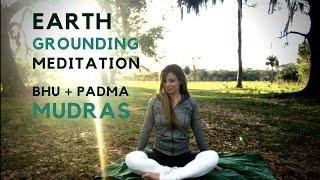 Earth Grounding Meditation {5 Min} Bhu & Lotus Mudra