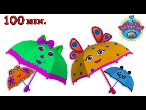 Rain Rain Go Away Song with Lyrics - English Nursery Rhymes Songs Collection for Kids | Mum Mum TV