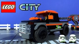 LEGO CITY 4x4 Pickup truck and Powerboat 60085