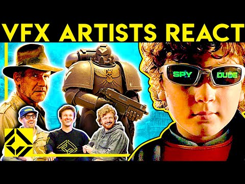 VFX Artists React to Bad & Great CGi 23