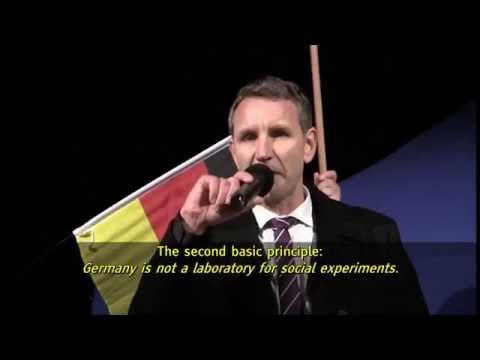 Björn Höcke: Speech in Erfurt, 18 November 2015