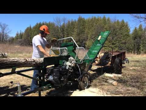 Woodland Firewood Processor