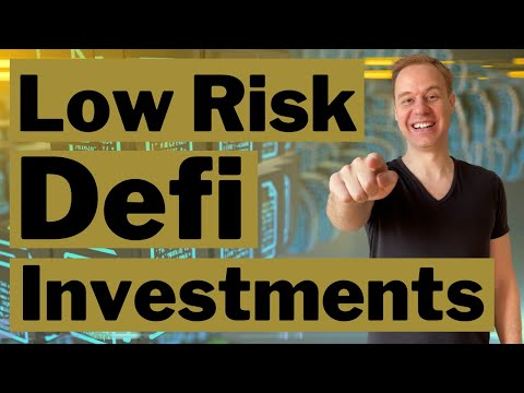 Low Risk Crypto Investments (Defi, yield farming, staking)