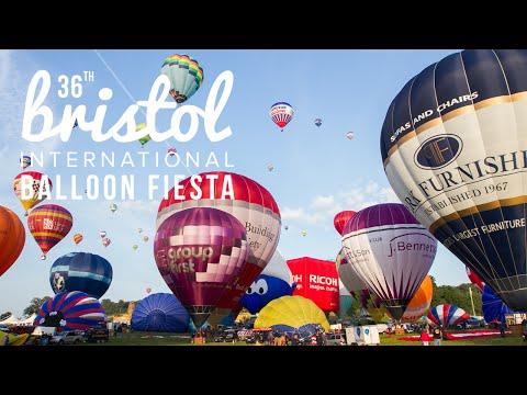 Bristol Balloon Fiesta 2014 Timelapse Film