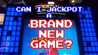 Arcade Asian: New Spiderman Game At Dave And Buster's! Can I Win The Big Jackpot?