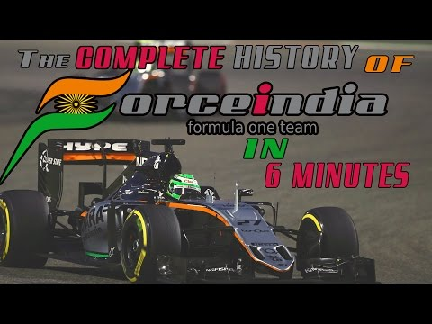 The Complete History of Force India in 6 Minutes
