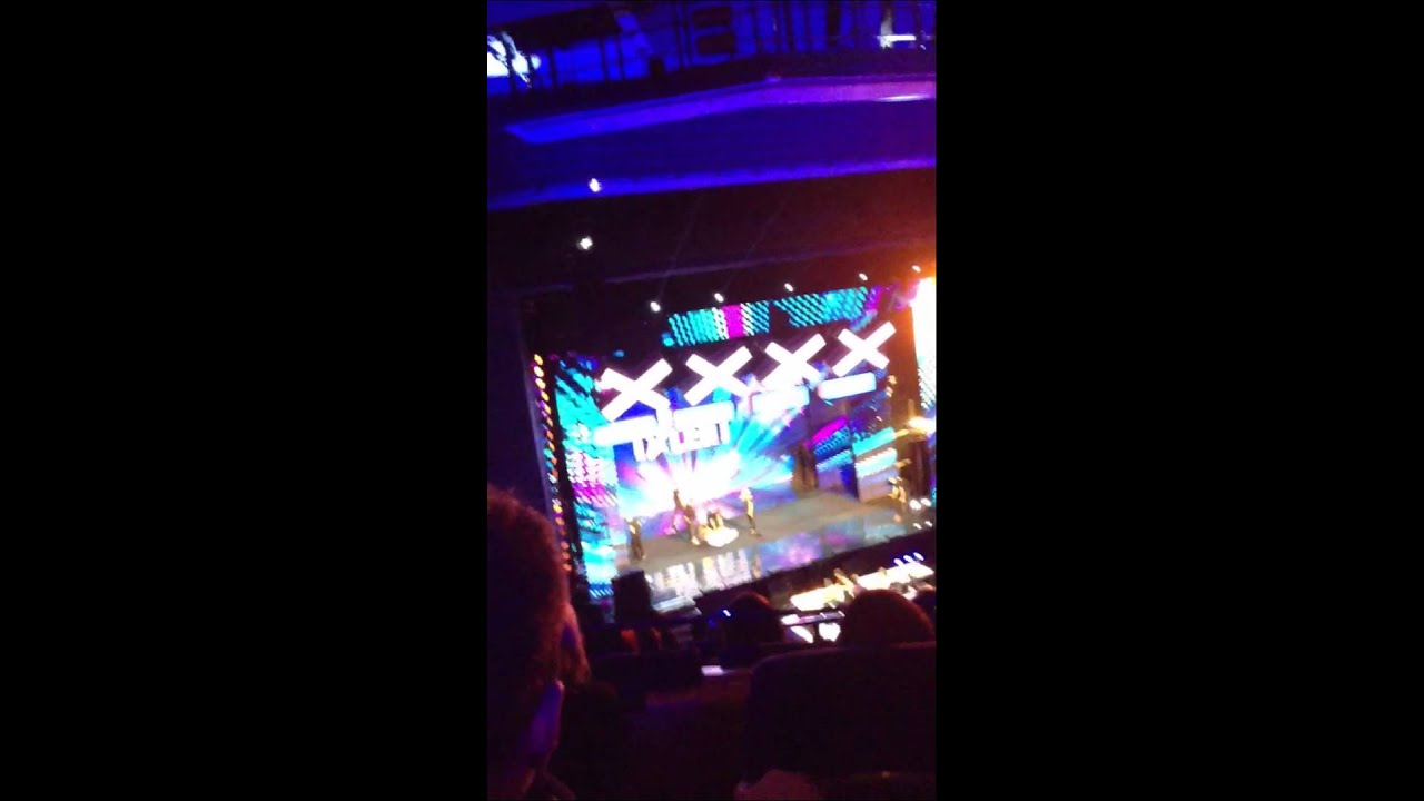 Ian Royce At Bgt Auditions Birmingham Icc Youtube