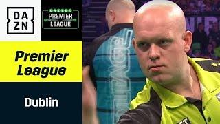 Michael van Gerwen und Co. fordern sich in Dublin | Premier League of Darts | DAZN Highlights