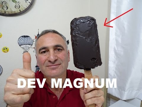 MAGNUM DONDURMA NASIL YAPILIR SÜPER DEV MAGNUM YAPTIK