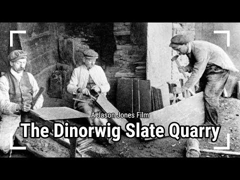 The Dinorwig Slate Quarry