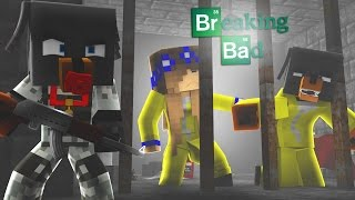Minecraft - BREAKING BAD BREAK OUT w/LITTLE CARLY AND DONUT- Little Baby Max