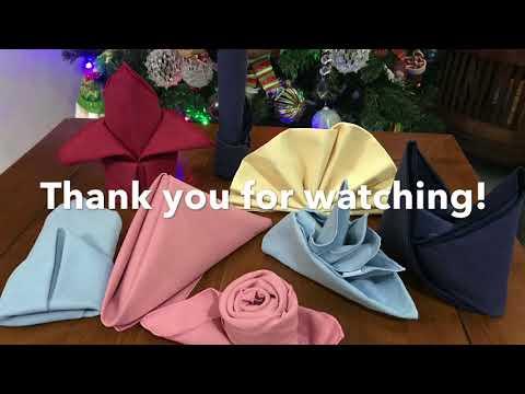 10-basic-table-napkin-fold