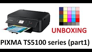 PIXMA TS5120 TS5140 TS5150 (part1) - Unboxing