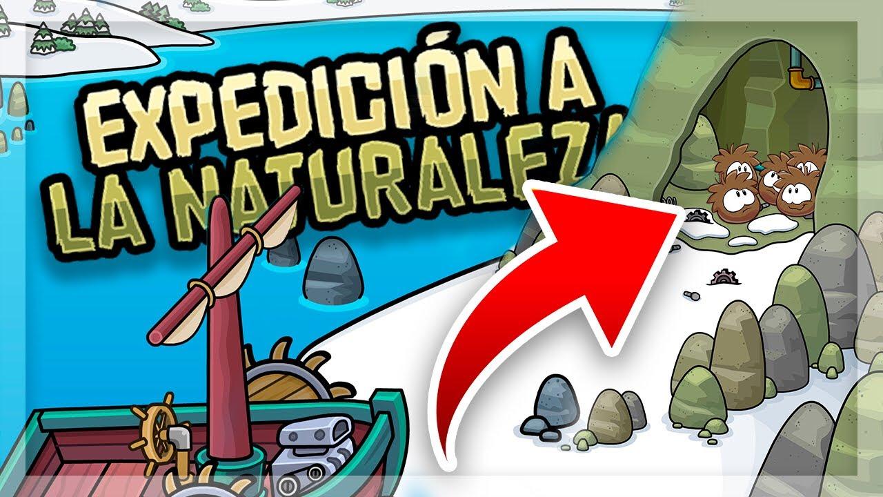 CLUB PENGUIN REWRITTEN: Guía de la Expedición Naturaleza - YouTube