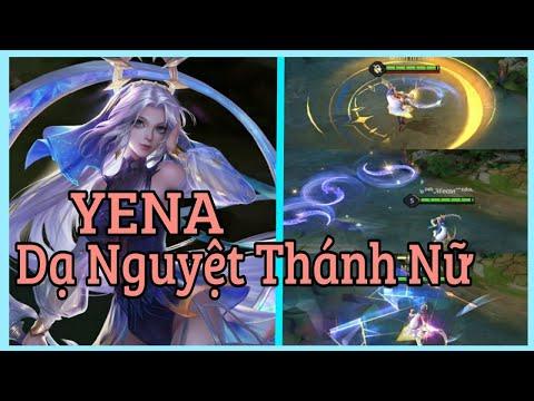 Trải nghiệm trang phục mới Yena Dạ Nguyệt Thánh Nữ | Gaming NTNT