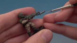 How to Paint: Cadian Shock Troops