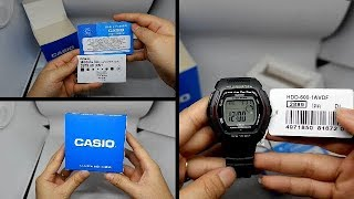 2656dfb67a ... Youth Series HDD-600-1AVDF (D056) Digital Watch. Casio HDD-600-1AVDF.  Casio HDD-600-1AVDF. CASIO STANDARD HDD-600-1A ORIGINAL UNBOXING