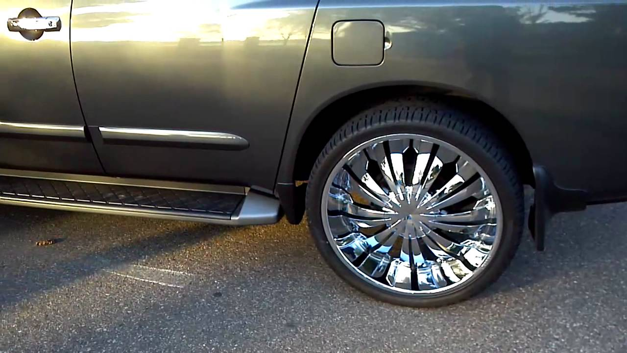 2005 nissan armada on 26 rims youtube 2005 nissan armada on 26 rims vanachro Images
