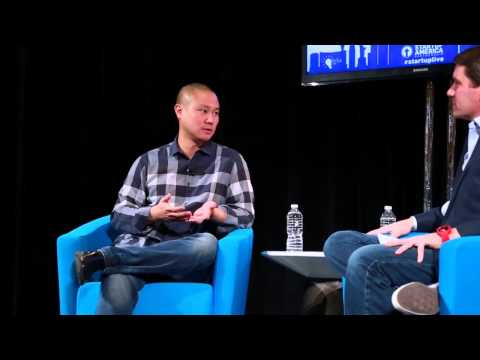 StartupLIVE with Tony Hsieh: Why company culture matters