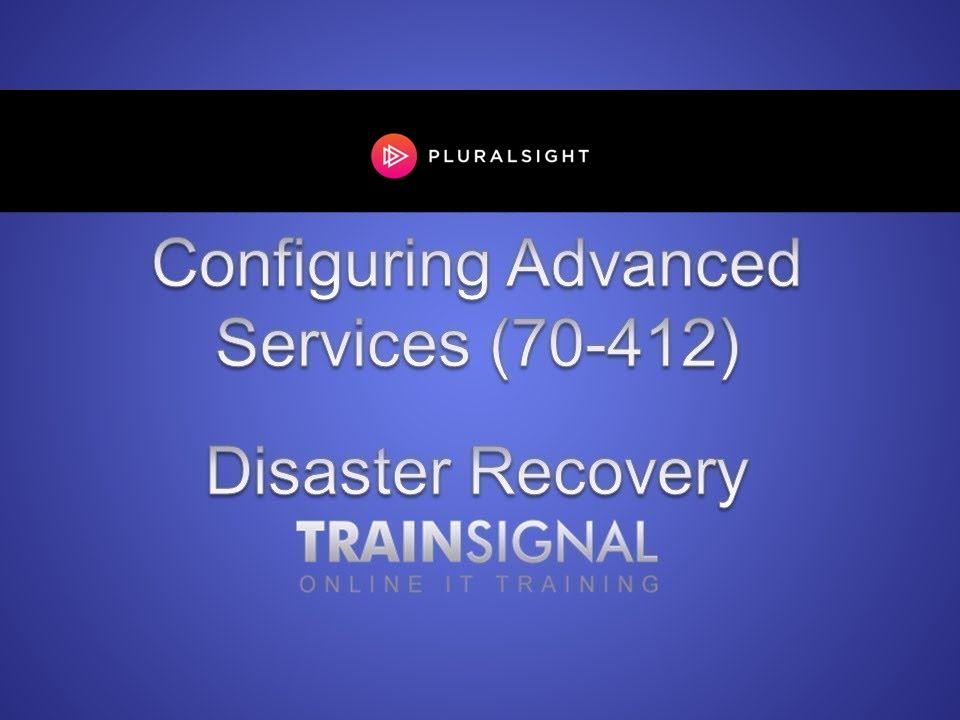 Disaster Recovery In Windows Server YouTube - Active directory disaster recovery plan template