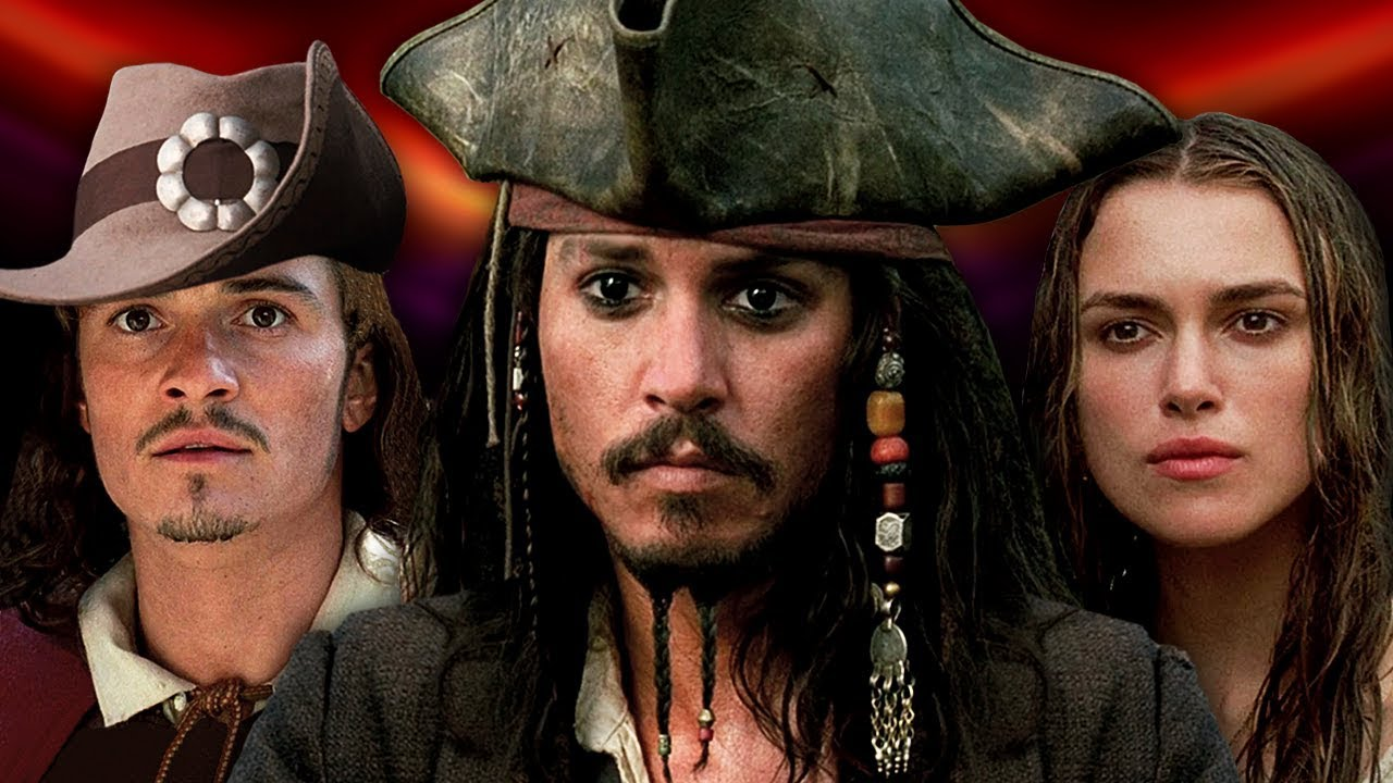 Download PIRATES OF THE CARIBBEAN - Then and Now ⭐ Real Name and Age