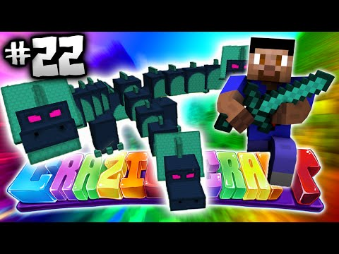 HYDRA BATTLE! - Minecraft CRAZIER CRAFT #22 - (New Crazy Craft)