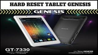 Como formatar seu tablet genesis  (Reset Factory gt- 7200; 7204, 7301; 7240) atualizado 2018