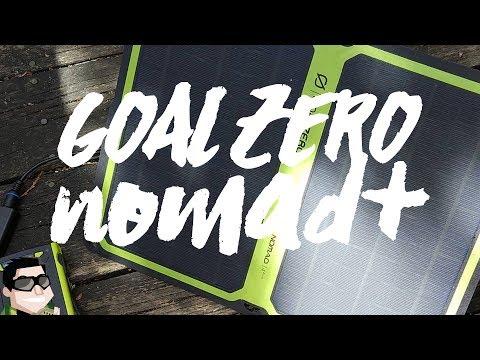 Best Packable Solar Panel Goal Zero Nomad 14+ & Venture 30