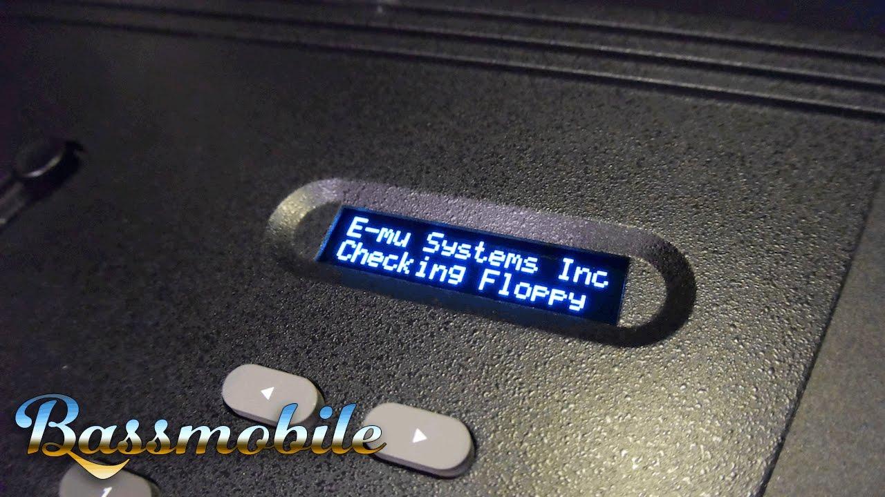 E-MU Systems EMAX I / II OLED Display Upgrade Kit by Bassmobile